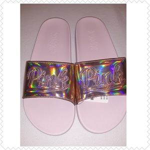 Victoria Secrets PINK flip flops